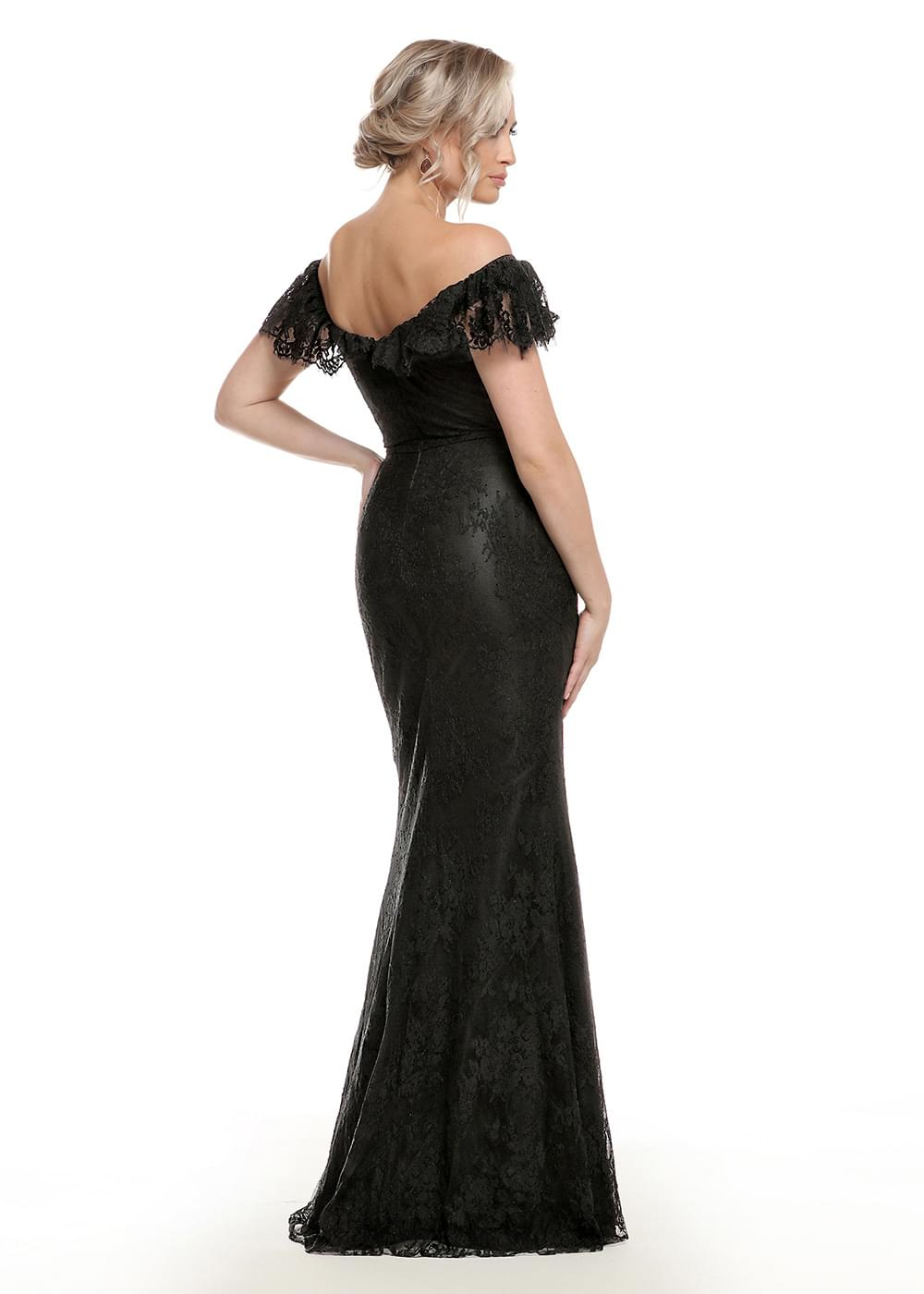 80134 Black Dresses By Ashdon